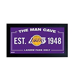 NBA® Los Angeles Lakers Man Cave Sign