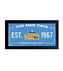 NBA® Denver Nuggets Man Cave Sign