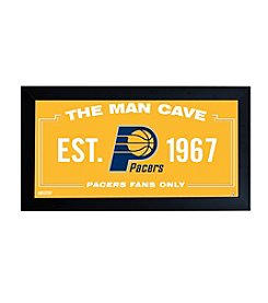 NBA® Indiana Pacers Man Cave Sign