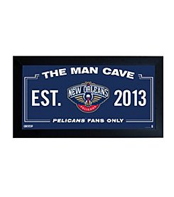 NBA® New Orleans Pelicans Man Cave Sign
