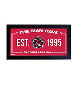 NBA® Toronto Raptors Man Cave Sign