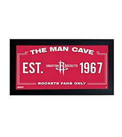 NBA® Houston Rockets Man Cave Sign