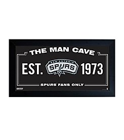 NBA® San Antonio Spurs Man Cave Sign