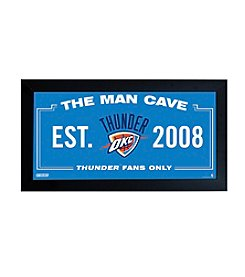 NBA® Oklahoma City Thunder Man Cave Sign