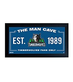 NBA® Minnesota Timberwolves Man Cave Sign