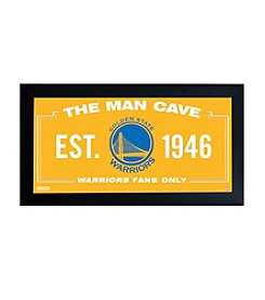 NBA® Golden State Warriors Man Cave Sign