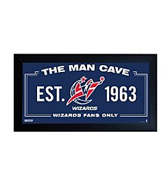 NHL® Washington Wizards Man Cave Sign