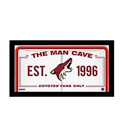 NHL® Arizona Coyotes Man Cave Sign