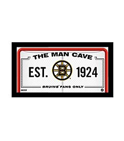 NHL® Boston Bruins Man Cave Sign