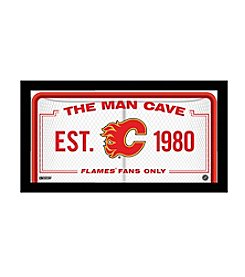 NHL® Calgary Flames Man Cave Sign