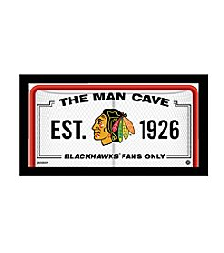 NHL® Chicago Blackhawks Man Cave Sign