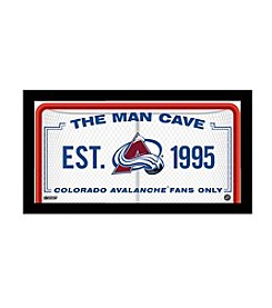 NHL® Colorado Avalanche Man Cave Sign