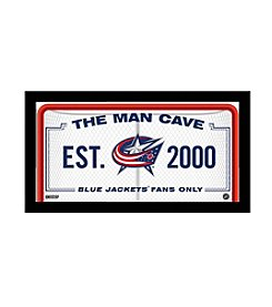NHL® Columbus Blue Jackets Man Cave Sign