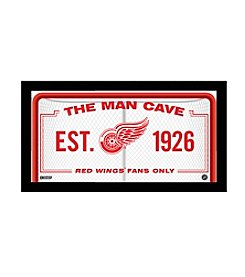 NHL® Detroit Red Wings Man Cave Sign