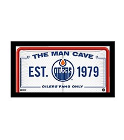 NHL® Edmonton Oilers Man Cave Sign