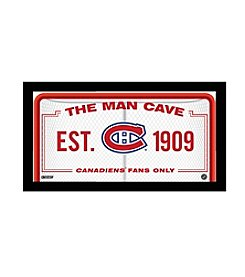 NHL® Montreal Canadiens Man Cave Sign