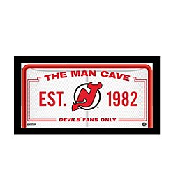 NHL® New Jersey Devils Man Cave Sign