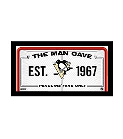 NHL® Pittsburgh Penguins Man Cave Sign