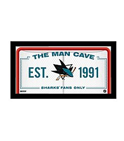 NHL® San Jose Sharks Man Cave Sign