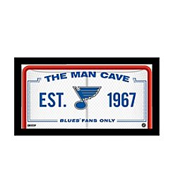 NHL® St. Louis Blues Man Cave Sign