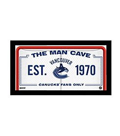 NHL® Vancouver Canucks Man Cave Sign