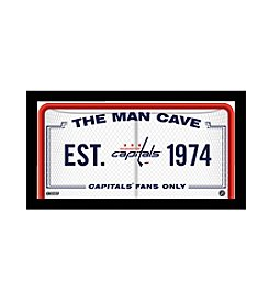 NHL® Washington Capitals Man Cave Sign