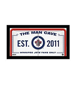 NHL® Winnipeg Jets Man Cave Sign