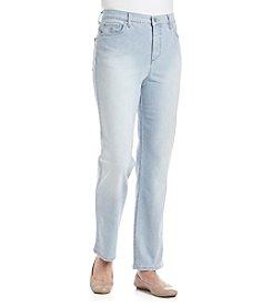 Gloria Vanderbilt® Petites' Amanda Ticking Stripe Jeans