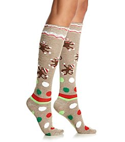 Legale® Sock Monkey Knee High Socks