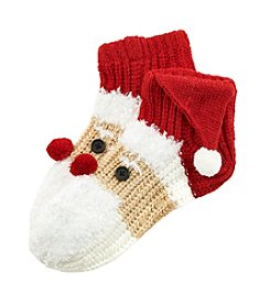 Legale® Knit Santa Slipper Socks