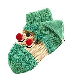 Legale® Handknit Elf Slipper Socks