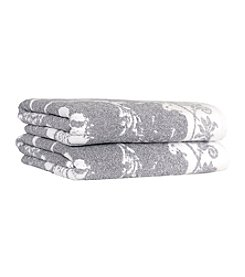 Linum Home Textiles Penelope Set of 2 Bath Towels