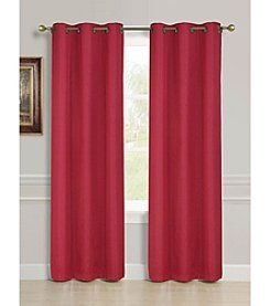 Dainty Home Striated Foamback Blackout Window Curtains