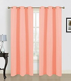 Dainty Home Blended Silk Window Curtains