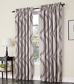 Sun Zero™ Chester Rod Pocket Room Darkening Window Curtain