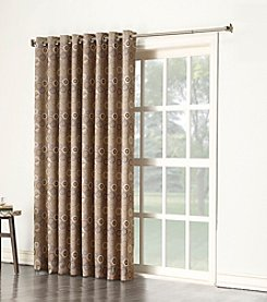 Sun Zero™ Gemini Rod Pocket Room Darkening Patio Curtain