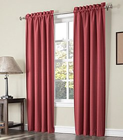 Sun Zero™ Peter Rod Pocket Thermal Window Curtain