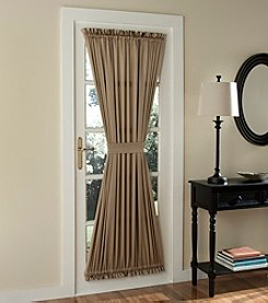 Sun Zero™ Redding Rod Pocket Room Darkening Door Window Curtain