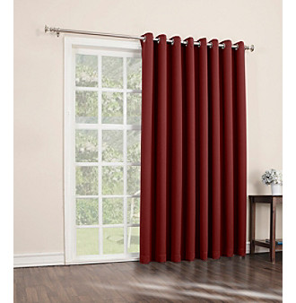 Sun Zero™ Treton Grommet Blackout Patio Curtain