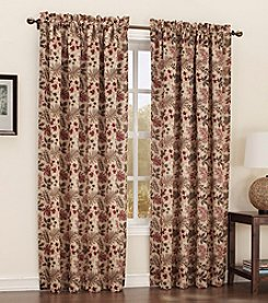 Sun Zero™ Woodland Rod Pocket Room Darkening Window Curtain