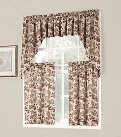 Sun Zero™ Woodland Rod Pocket Room Darkening Swag Valance