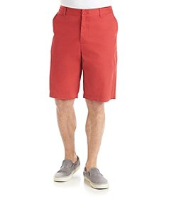 John Bartlett Consensus Men's Flat Front Solid Shorts