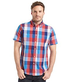 John Bartlett Consensus Men's Short Sleeve Woven Top