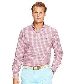 Polo Ralph Lauren® Men's Big & Tall Long Sleeve Check Button Down Shirt