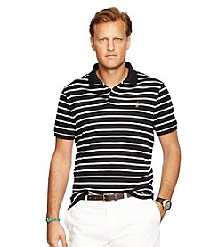 Polo Ralph Lauren® Men's Big & Tall Short Sleeve Classic Striped Polo Shirt