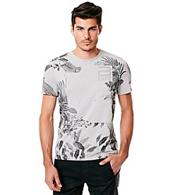 Buffalo by David Bitton Men's Charlie Narc Floral Short Sleeve Tee