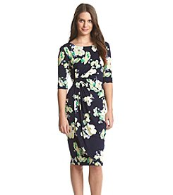 Connected® Floral Sheath Dress