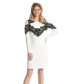 Adrianna Papell® Floral Lace Dress
