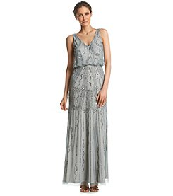 Adrianna Papell® Beaded Blouson Gown