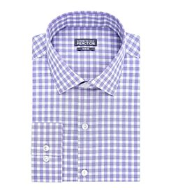 Kenneth Cole REACTION® Men's Checkered Spread Collar Dress Shirt